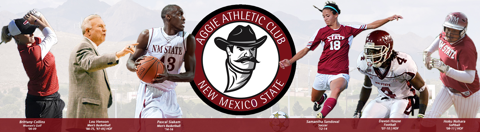 Please make your contribution to the Aggie Athletic Club at New Mexico State University