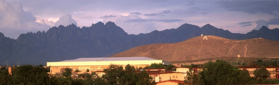 """A"" Mountain at NMSU, Las Cruces"