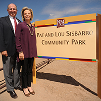 Pat and Lou Sisbarro