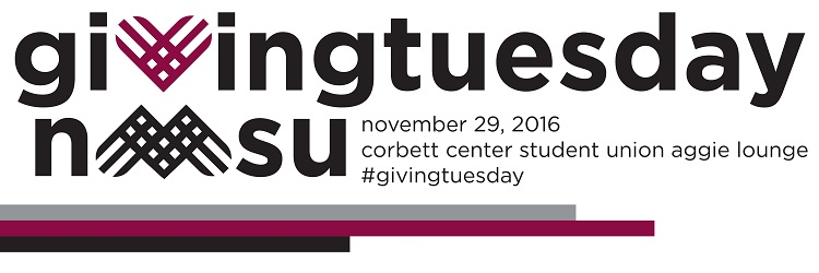 Join us for #GivingTuesday on November 29, 2016.