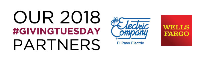 2018 Giving Tuesday Partners - El Paso Electric and Wells Fargo