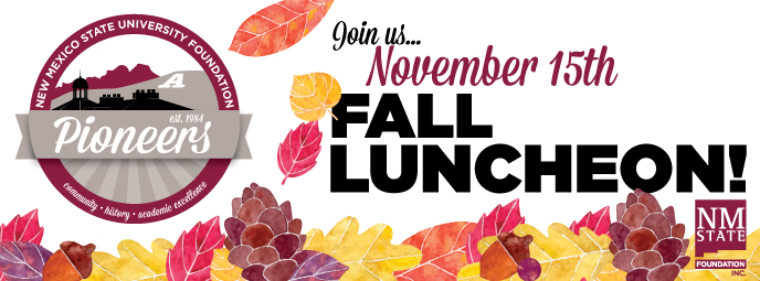 Pioneers Fall Lunch