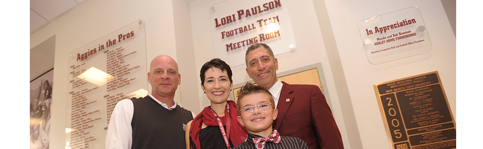 Lori Paulson with family
