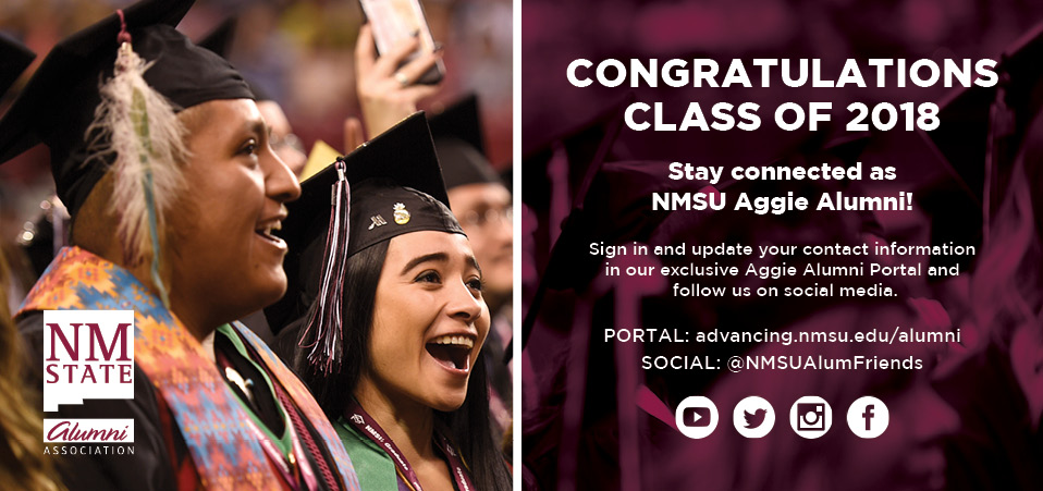Congratulations Class of 2018 - Update Your Contact Information